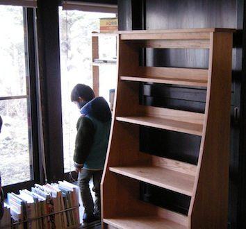 日光市のお客様へお届けしたチェリーの本棚