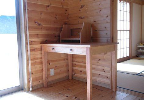 福島県のお客様へチェリーの学習机をお届け