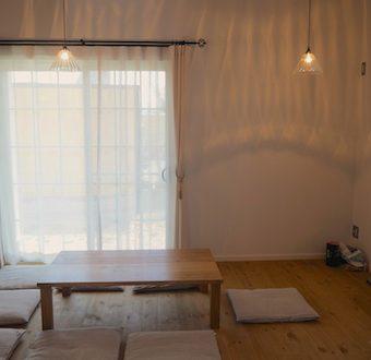 福島県のお客様にクルミのローテーブルをお届け