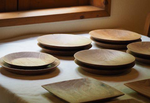 宇都宮市のお客様に製作させて頂いた丸皿、角皿など