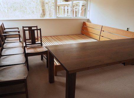 日光市のお客様にお届けした家具