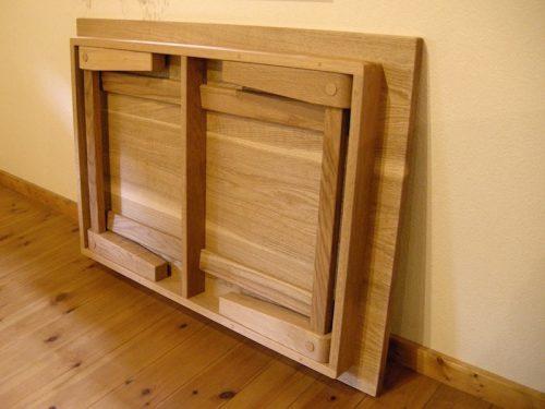 四角いちゃぶ台 脚の構造