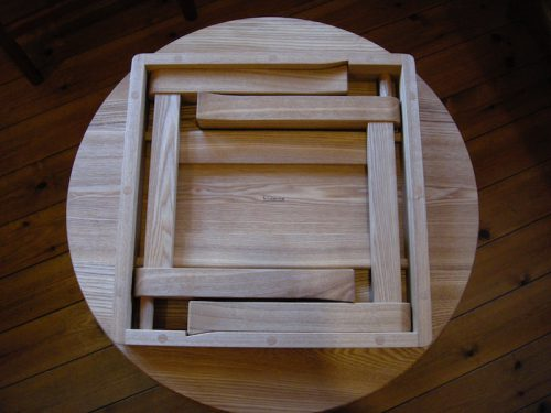 ちゃぶ台 脚の構造
