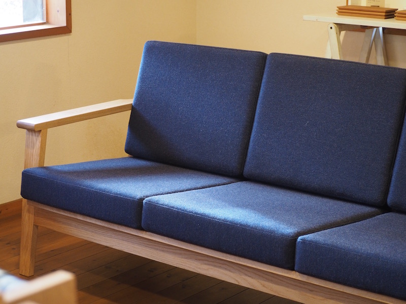 オーダーメイドのソファー