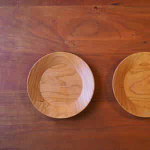 チェリーの丸皿