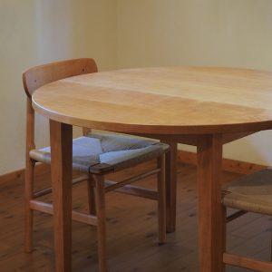 ラウンドテーブル チェリー