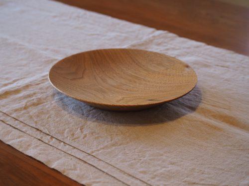 6寸 丸皿 クルミ