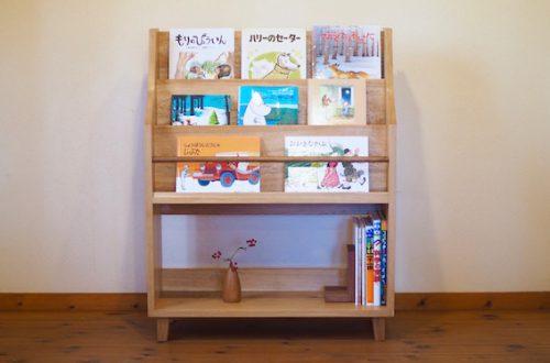 福島県のお客様にお届けした絵本棚