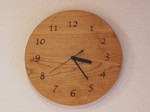丸時計 数字の文字盤