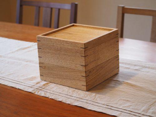 クルミの重箱