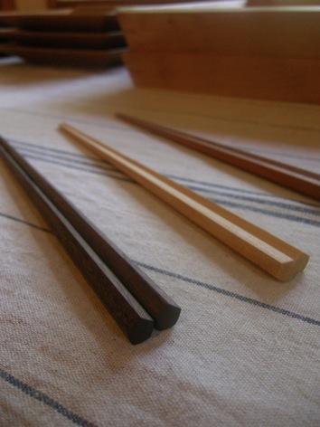 五角箸と箸入れ