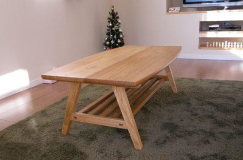 ナラのソファーテーブル